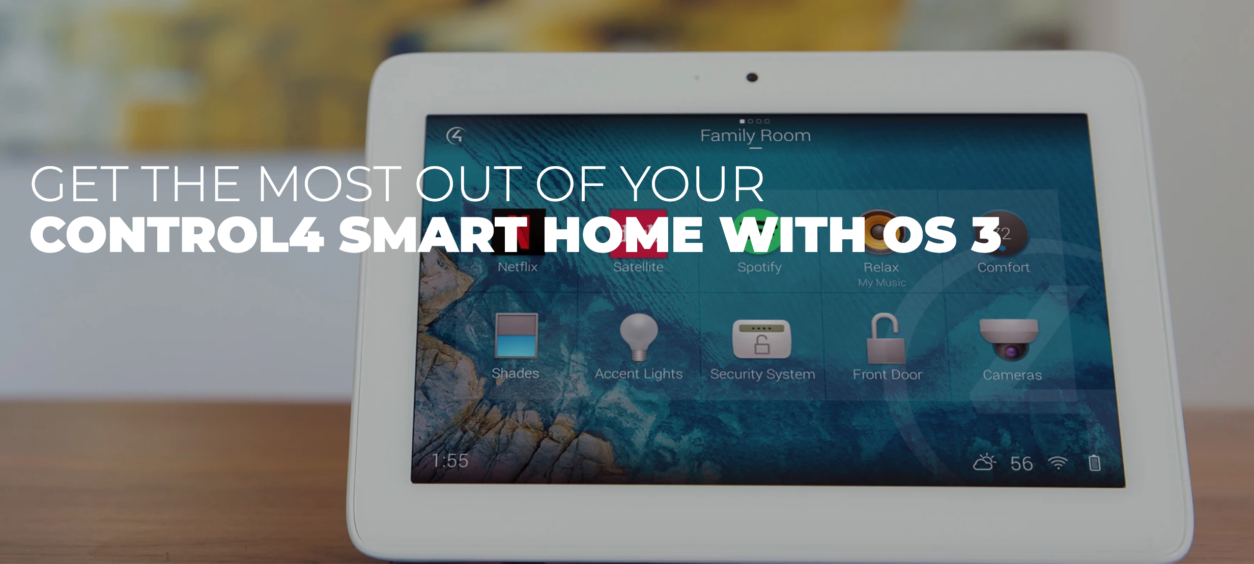 See What's New In Control4 OS 3 - A Must Have Upgrade For The Home Automation User